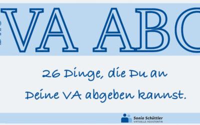 045: Mein VA ABC – Teil 8